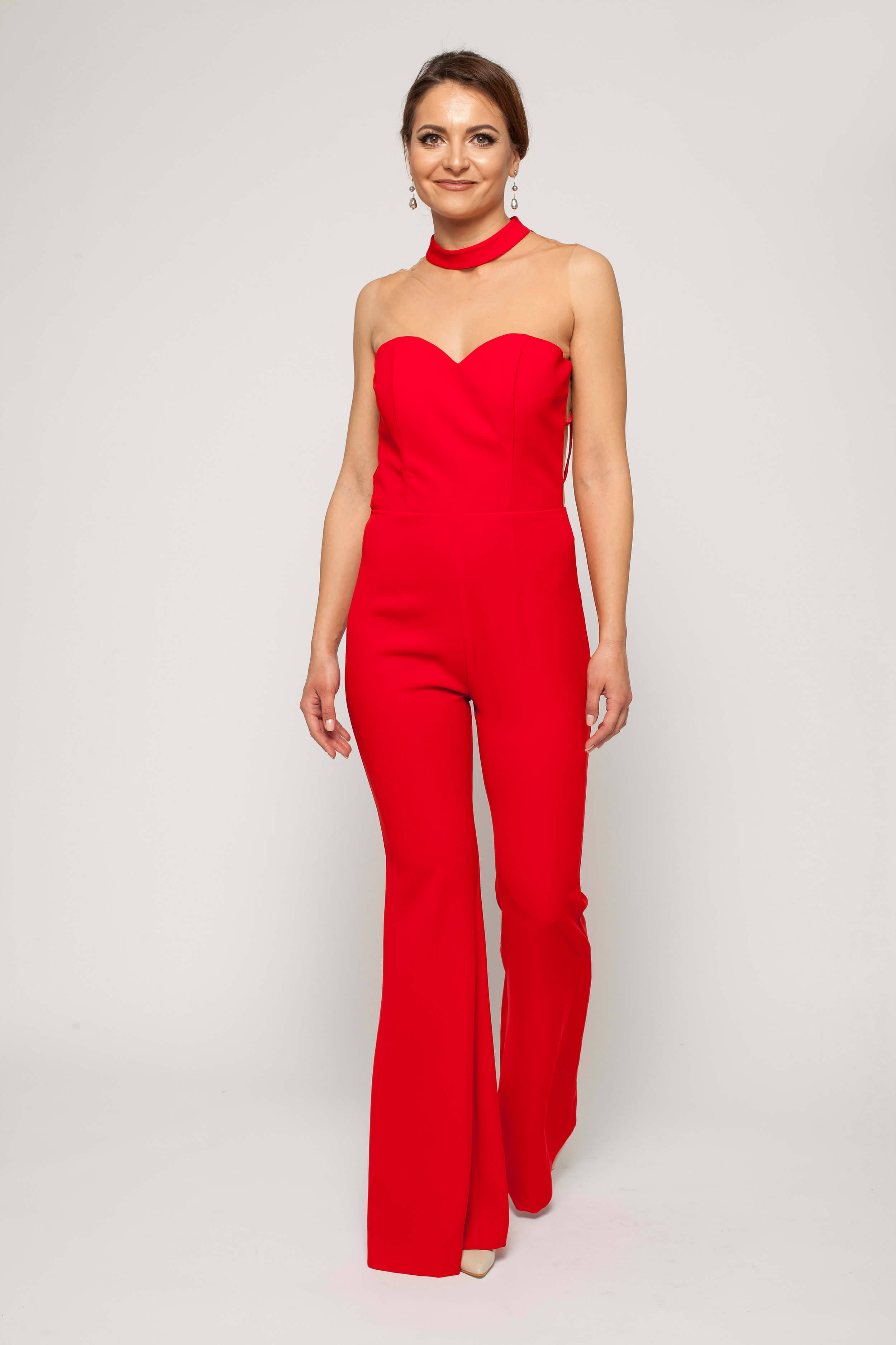 red jumpsuit with bare back 1